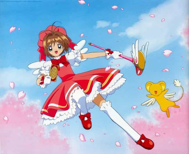 Sakura Kinomoto is listed (or ranked) 4 on the list 20 Great Anime Characters Who Can Fly (Excluding DBZ)