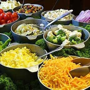 Salad Bar is listed (or ranked) 3 on the list The Best Things To See At A Buffet