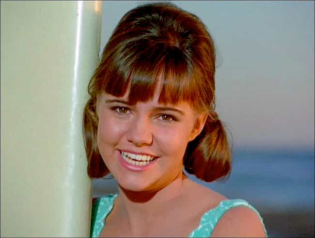 Sally Field is listed (or ranked) 4 on the list Gidget Cast List