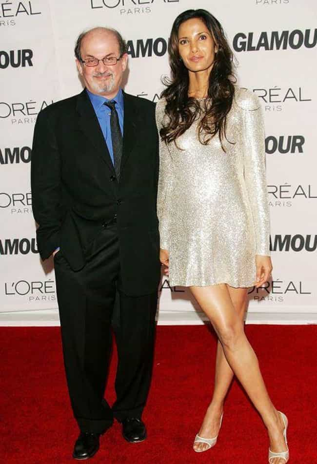 Salman Rushdie is listed (or ranked) 4 on the list 19 Ugly Guys Who Married Supermodels
