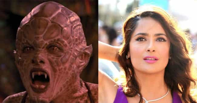 Salma Hayek is listed (or ranked) 2 on the list What These Notable Horror Villains Look Like Without Their Makeup