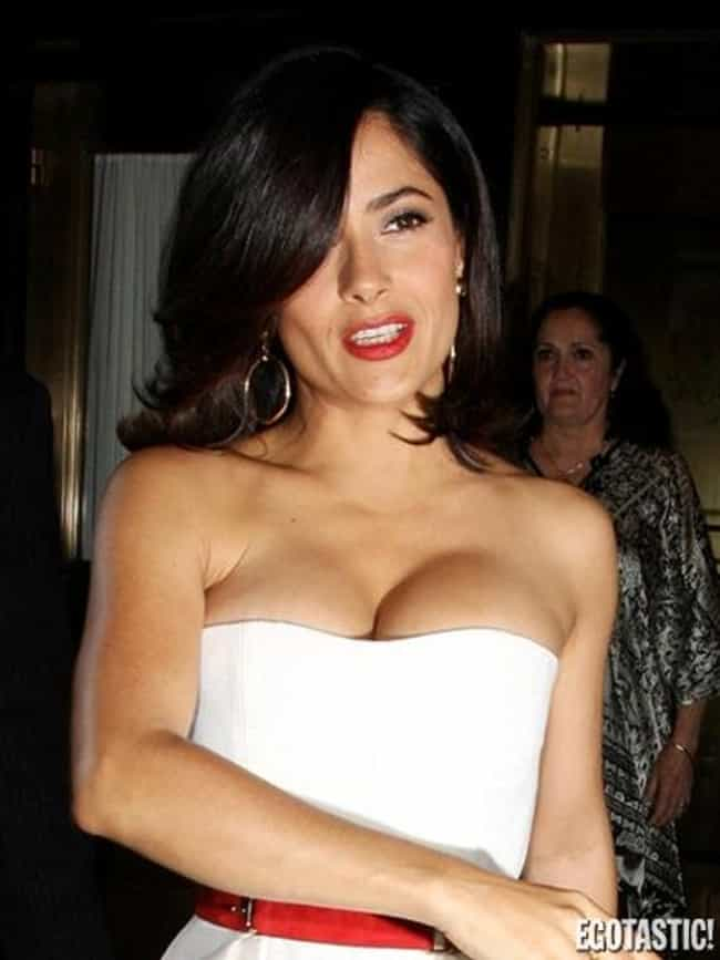 Salma Hayek is listed (or ranked) 4 on the list The Most Beautiful Celebrities Of 20th Century