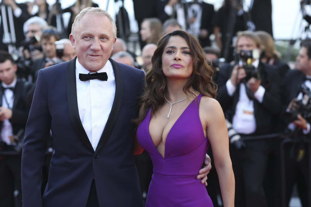 Salma Hayek is listed (or ranked) 1 on the list The Most Beautiful Billionaire Trophy Wives