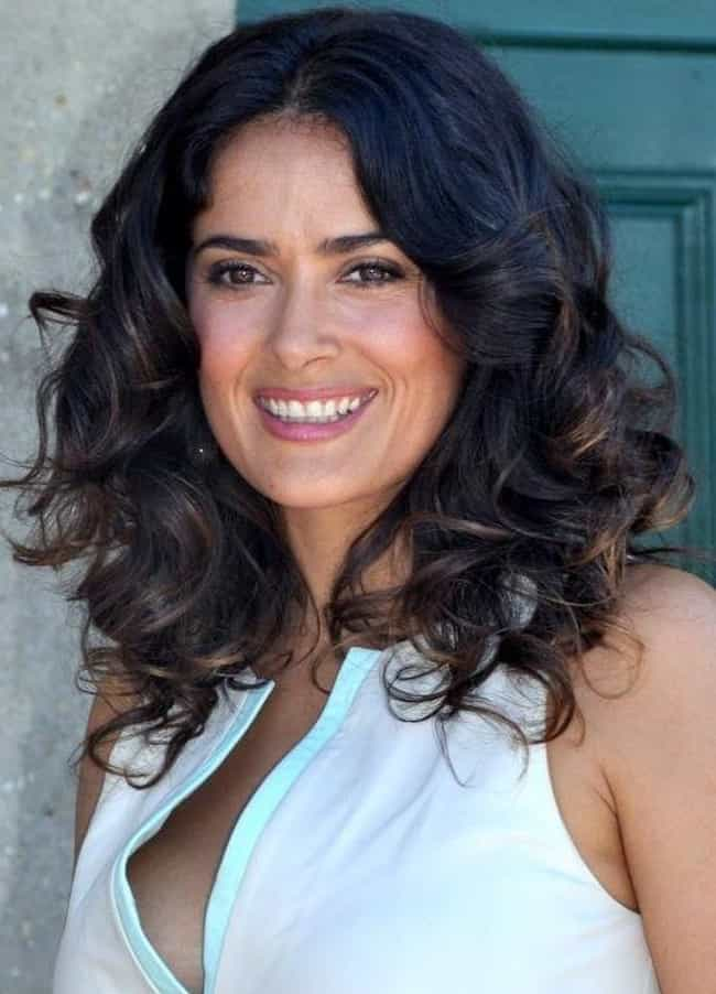 Salma Hayek is listed (or ranked) 2 on the list Celeb Women Who Are Way Older Than You Think