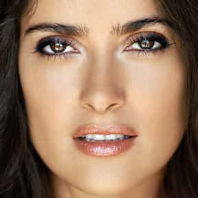 Salma Hayek is listed (or ranked) 13 on the list Natural Beauties Who Don't Need No Make-Up