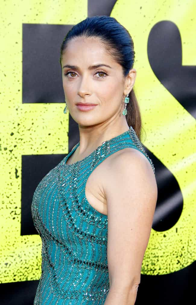 Salma Hayek is listed (or ranked) 4 on the list Famous Female Television Producers