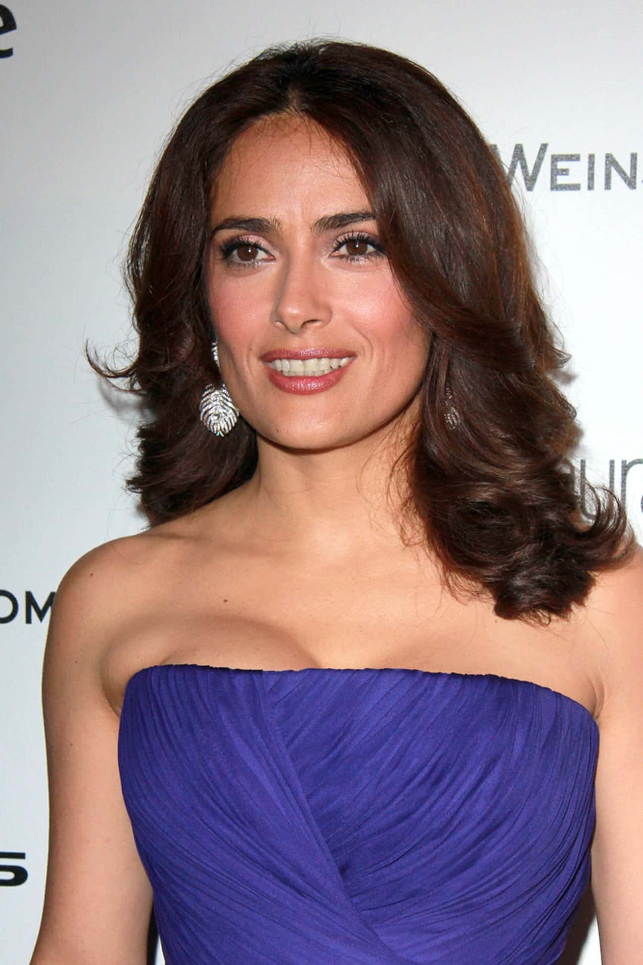 Salma Hayek is listed (or ranked) 2 on the list Famous Hispanic Actresses