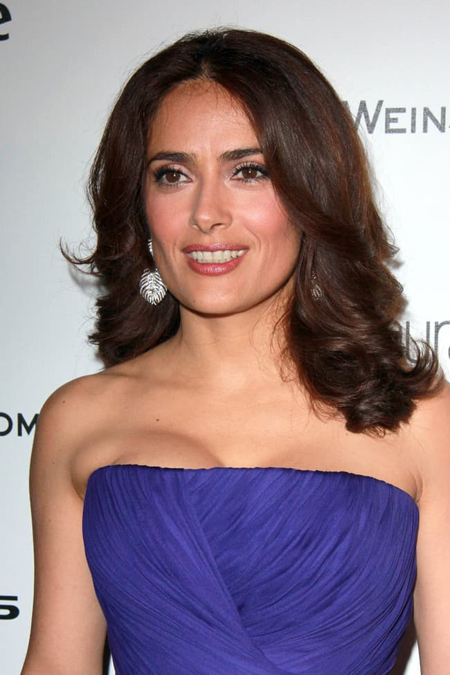 Salma Hayek Is Listed Or Ranked 2 On The List Famous Hispanic Actresses