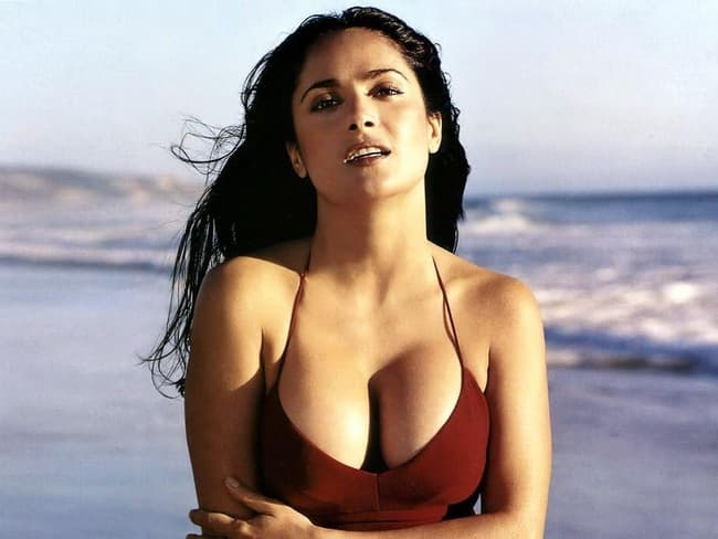 Salma Hayek Is Listed Or Ranked 1 On The List The Hottest Latina Celebrities