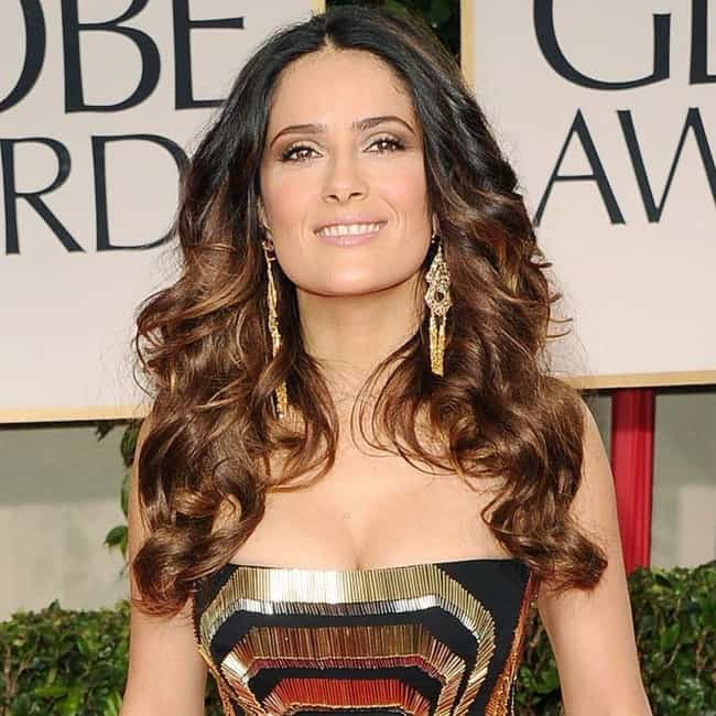 Salma Hayek is listed (or ranked) 3 on the list The Sexiest Women Over 40