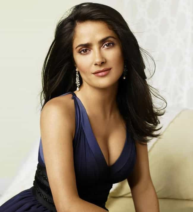 Salma Hayek is listed (or ranked) 3 on the list Famous Virgo Celebrities