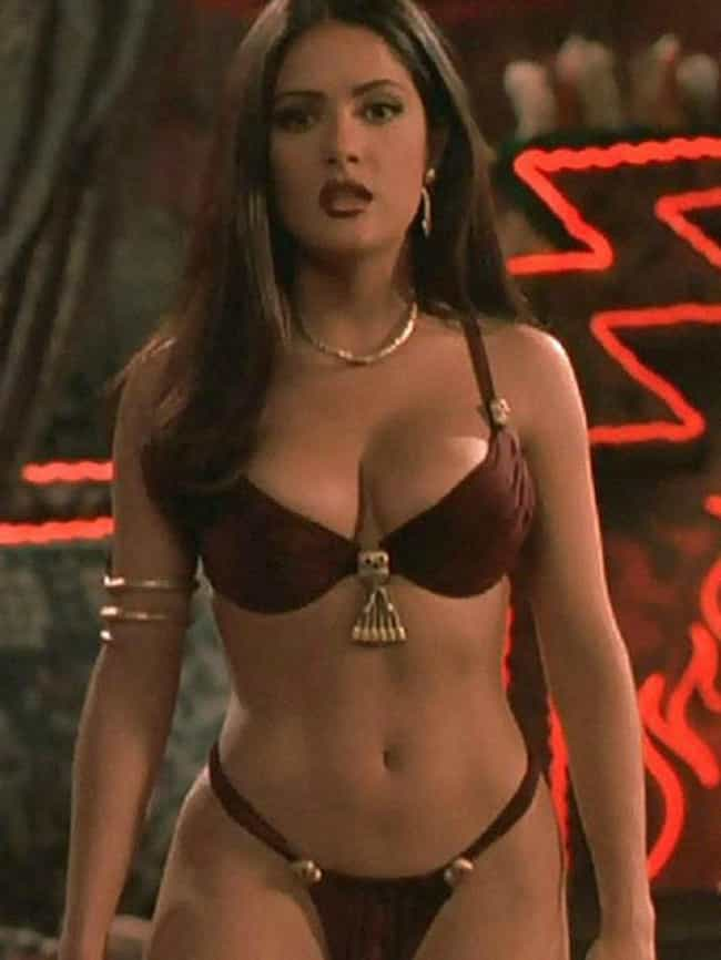 Salma Hayek is listed (or ranked) 2 on the list The Hottest Moms In Hollywood