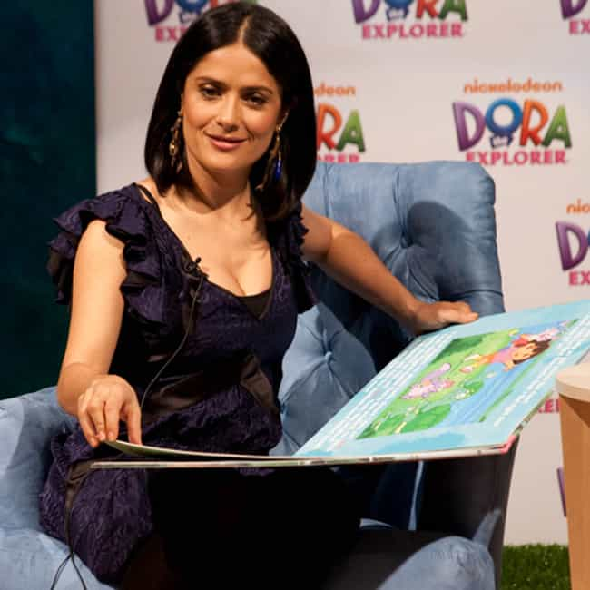 Salma Hayek is listed (or ranked) 4 on the list 60+ Famous People with Dyslexia