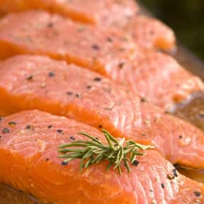 Salmon is listed (or ranked) 12 on the list The Healthiest Superfoods