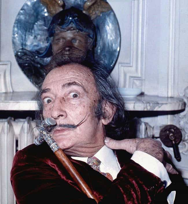 Salvador Dalí is listed (or ranked) 3 on the list Historical Figures Who Had Mental Illnesses or Crippling Phobias