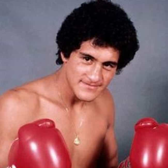 Salvador Sánchez ... is listed (or ranked) 4 on the list The Best Hispanic Boxers of All Time