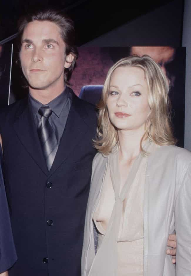 Samantha Mathis is listed (or ranked) 3 on the list Christian Bale Loves and Hookups