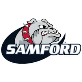 Samford University is listed (or ranked) 4 on the list All SoCon Schools