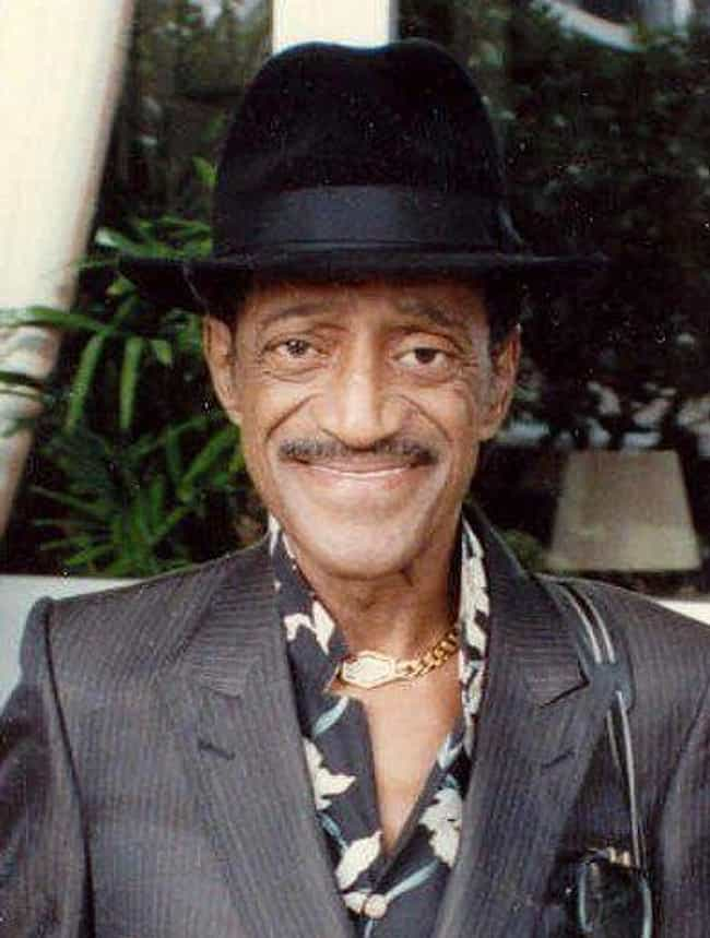 Sammy Davis, Jr. is listed (or ranked) 2 on the list Celebrities Who You Never Knew Were Partially Blind