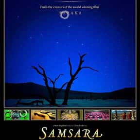 Samsara is listed (or ranked) 1 on the list The Best Documentaries Without Narration