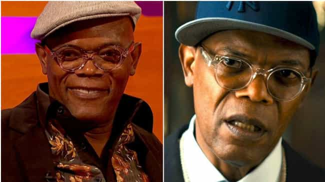 Samuel L. Jackson is listed (or ranked) 6 on the list Actors Known for Roles Most Similar to Who They Are in Real Life