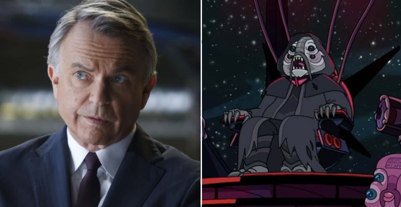Sam Neill is listed (or ranked) 1 on the list The Most Surprising Celebrity Cameos On 'Rick And Morty'