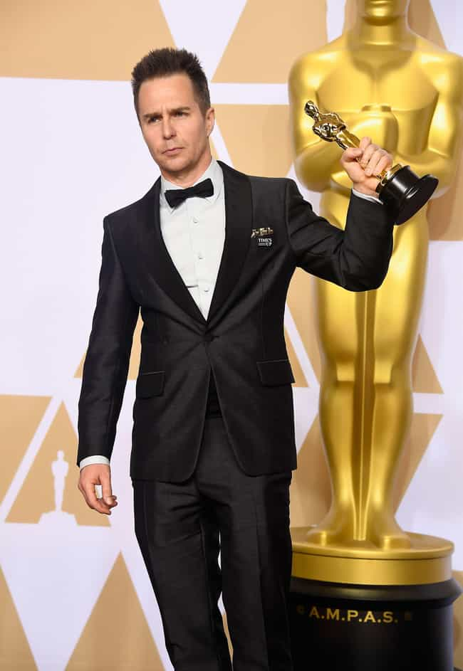 Sam Rockwell is listed (or ranked) 2 on the list Best Dressed Celebs At The 2018 Oscars