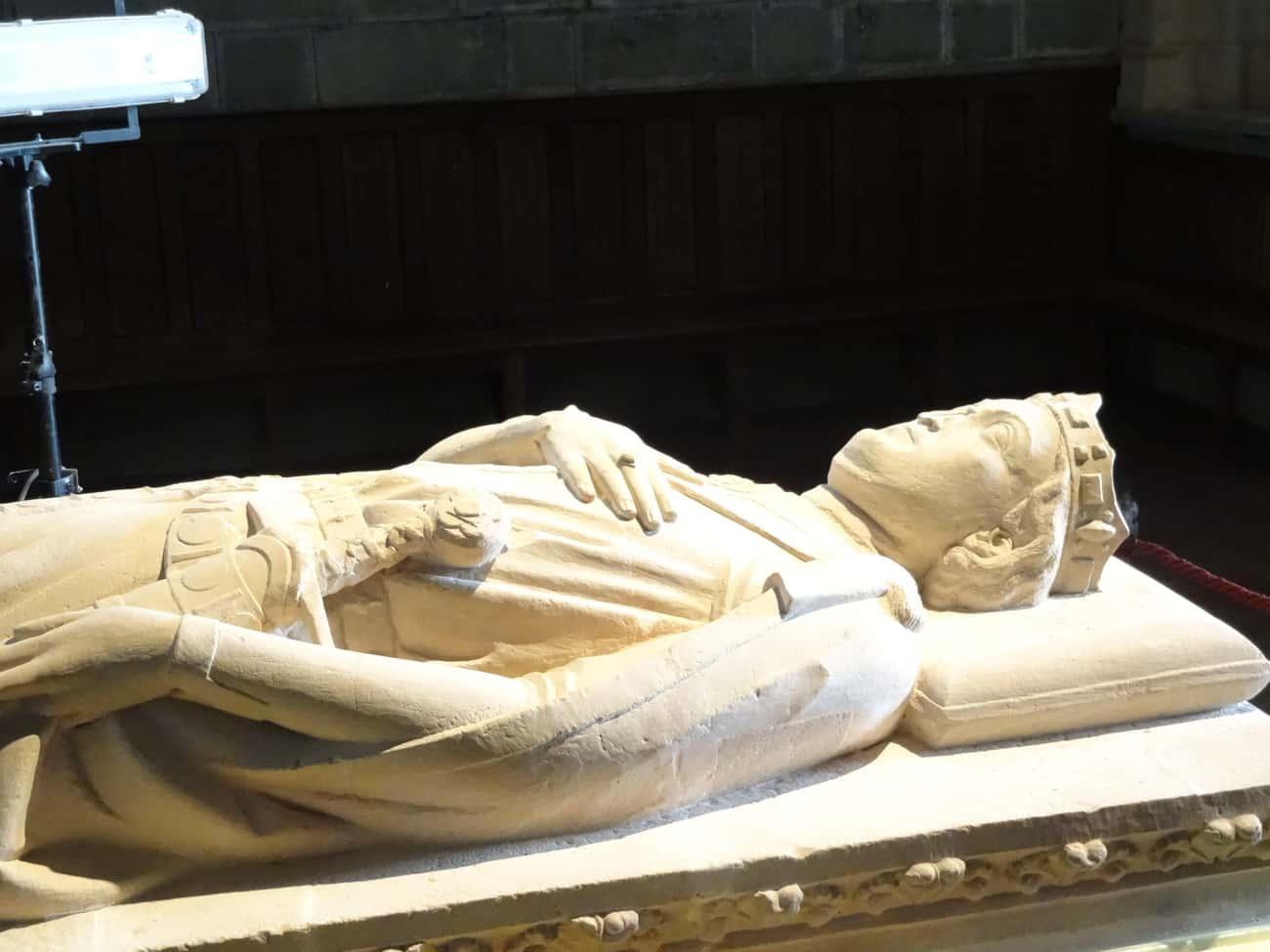 "Sancho VII Of Navarre, 7'4"""