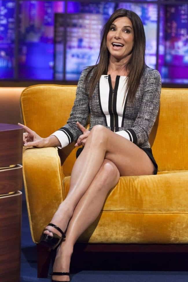 Sandra Bullock is listed (or ranked) 2 on the list The Most Gorgeous Crossed Legs in Show