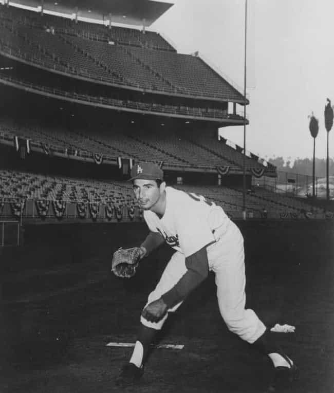Sandy Koufax is listed (or ranked) 2 on the list Athletes Who Went to Ivy League Schools