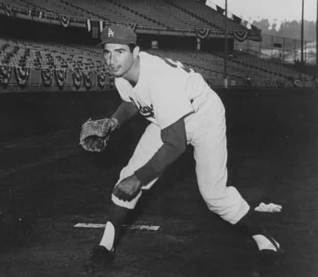 Sandy Koufax is listed (or ranked) 1 on the list Famous Athletes Who Are Jewish