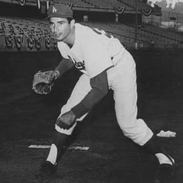 Sandy Koufax is listed (or ranked) 1 on the list Famous Jewish Baseball Players