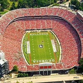 Sanford Stadium is listed (or ranked) 15 on the list The Best College Football Stadiums