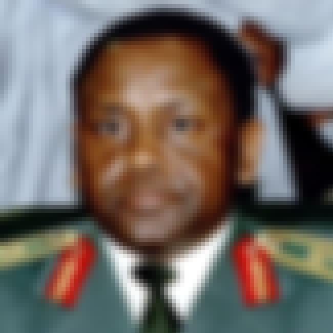 Sani Abacha is listed (or ranked) 4 on the list The Top 10 Corrupt World Leaders