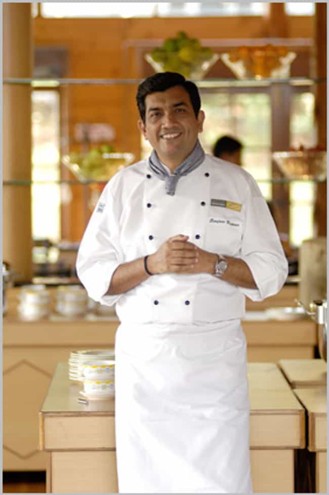 Sanjeev Kapoor is listed (or ranked) 3 on the list Famous Chefs from India