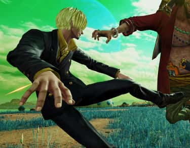 Sanji is listed (or ranked) 2 on the list The Best 'Jump Force' Characters