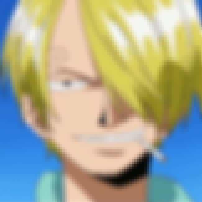 Sanji is listed (or ranked) 4 on the list The 40+ Best Anime Character Backstories