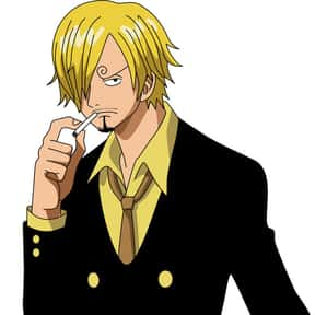 Sanji is listed (or ranked) 24 on the list The Very Best Anime Characters