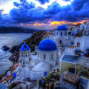 Santorini is listed (or ranked) 20 on the list Best Couples Vacation Destinations & Anniversary Trips