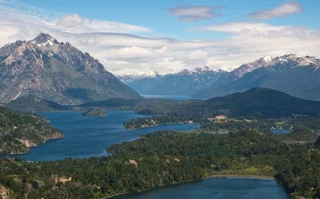 San Carlos de Bariloche ... is listed (or ranked) 2 on the list The Most Beautiful Cities in South America