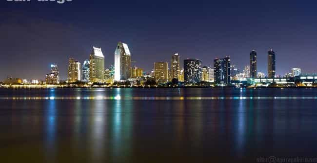 San Diego is listed (or ranked) 3 on the list The Most Beautiful Cities in the US