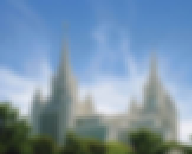 San Diego California Temple is listed (or ranked) 1 on the list The Most Beautiful Mormon Temples