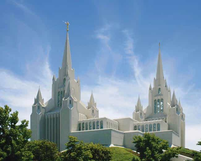 San Diego California Tem... is listed (or ranked) 1 on the list The Most Beautiful Mormon Temples