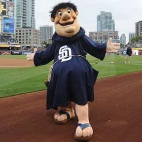 Swinging Friar is listed (or ranked) 20 on the list The Best Mascots in Major League Baseball