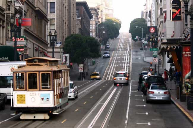 San Francisco is listed (or ranked) 3 on the list The Most Expensive Commercial Streets in North America