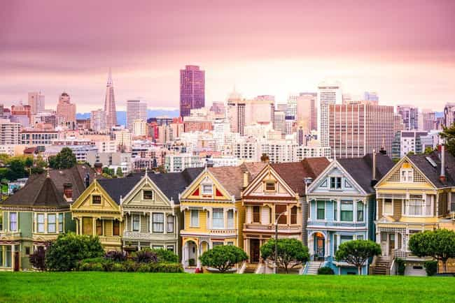 San Francisco is listed (or ranked) 1 on the list The Most Beautiful Cities in the US