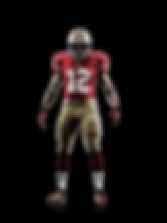 San Francisco 49ers is listed (or ranked) 2 on the list The Best Uniforms In The NFL