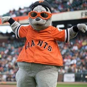 Lou Seal is listed (or ranked) 11 on the list The Best Mascots in Major League Baseball
