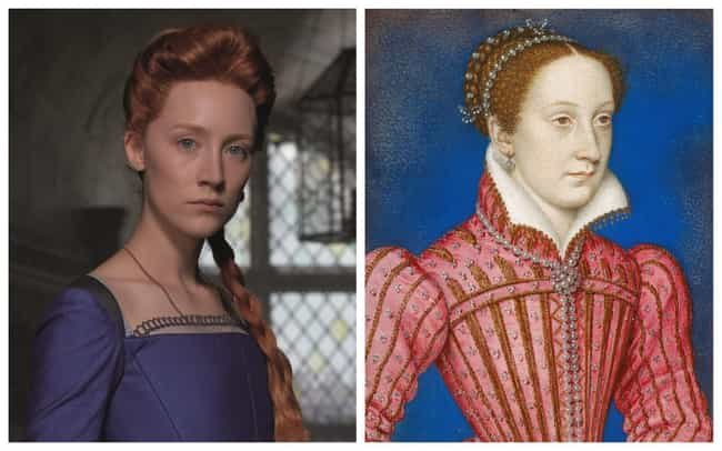Saoirse Ronan is listed (or ranked) 1 on the list 'Mary Queen Of Scots' Actors Vs. The Historical Figures They Portrayed