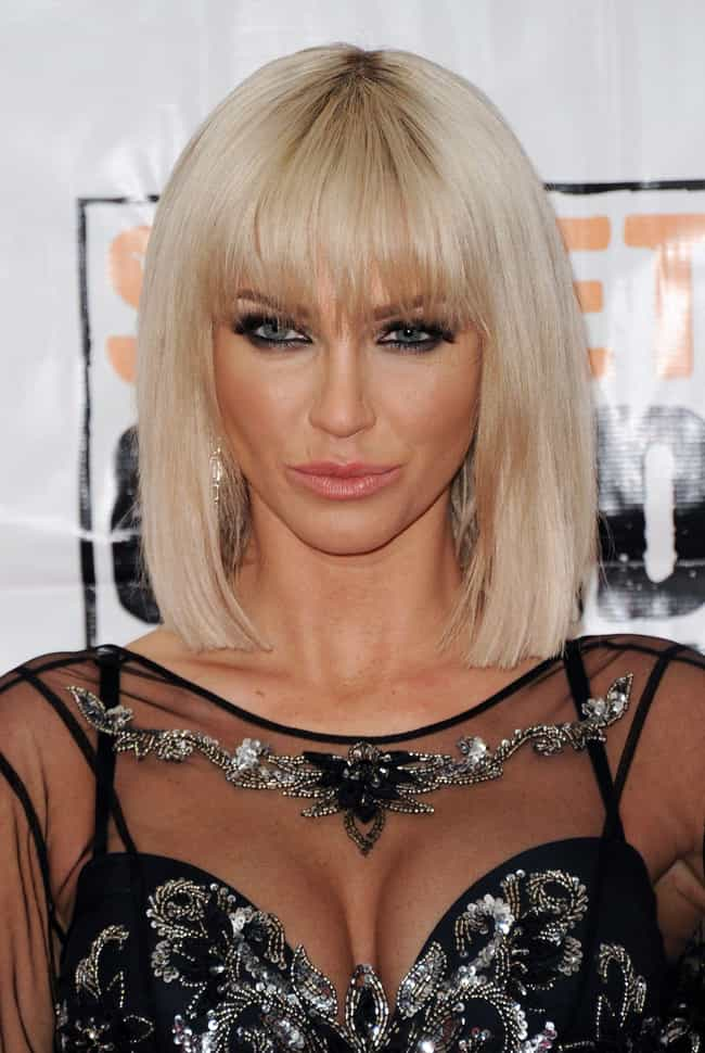 Sarah Harding is listed (or ranked) 6 on the list Celeb Women Who Can Totally Pull Off Short Hair